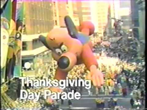 NBC 1976 Thanksgiving Day Parade & NFL Football Promo