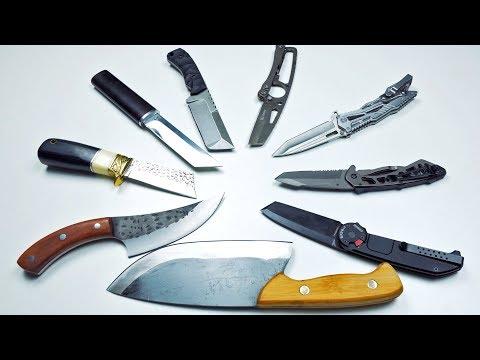 Куча Ножей с Алиэкспресс!