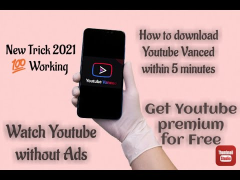 How to download Youtube vanced easy way with in 5 minutes|How to watch videos without ads in telugu.