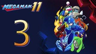 Mega Man 11 Kicks DSP's BUTT! The Playthrough pt3 - FINALLY, Killing Bosses!