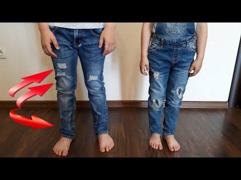 Как сделать красивые дырки и потертости на джинсах Модные джинсы