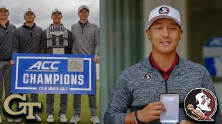 Georgia Tech Wins 2019 ACC Men's Golf Championship, FSU's Jon Pak Wins Individual Title