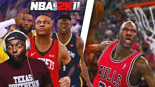NBA 2k11 Has Been MODDED And REMASTERED 10 Years Later!! NBA 2k20 Mod