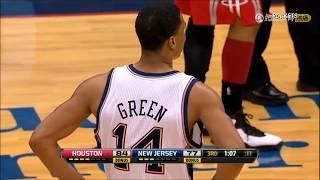  盤點NBA彈跳王 格林扣完籃親籃筐詹姆斯高出一頭 