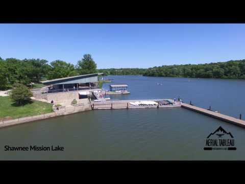 Shawnee Mission Lake 2017 - Drone Flight