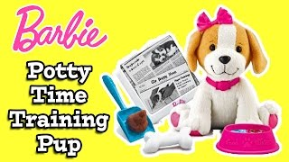 Barbie Potty Time Training Pup Review
