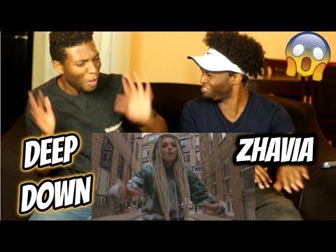 zhavia---deep-down-(official-video)-(reaction)