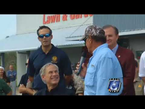 Visit from country music superstar George Strait provides respite for Rockport