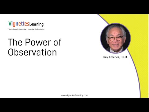 Story-based eLearning Idea: The Power of Observation