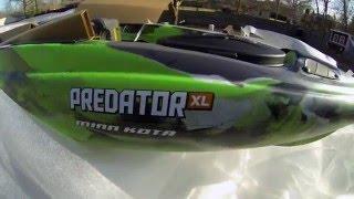 Oldtown Predator XL Minn Kota Unboxing