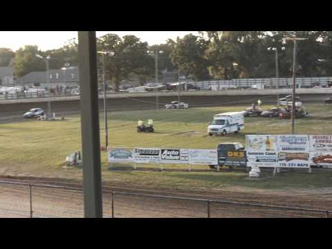 red cedar speedway fair  night #1 hornets