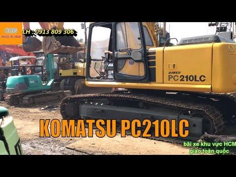Test máy xúc đào KOMATSU PC210LC | Nhập khẩu từ Nhật