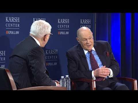 Justice Anthony Kennedy Interview With David Rubenstein