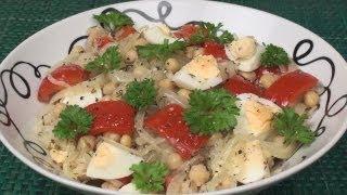 Lebanese Chickpea Salad Recipe