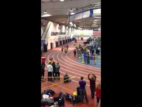 2015 NCCAA men's 800m indoor track championship