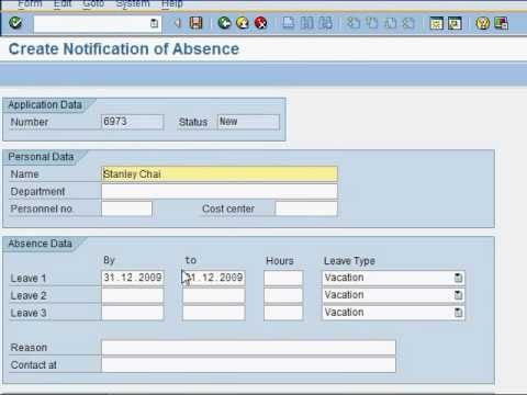 How to create an SAP workflow - Test (Part 2 of 4) - YouTube