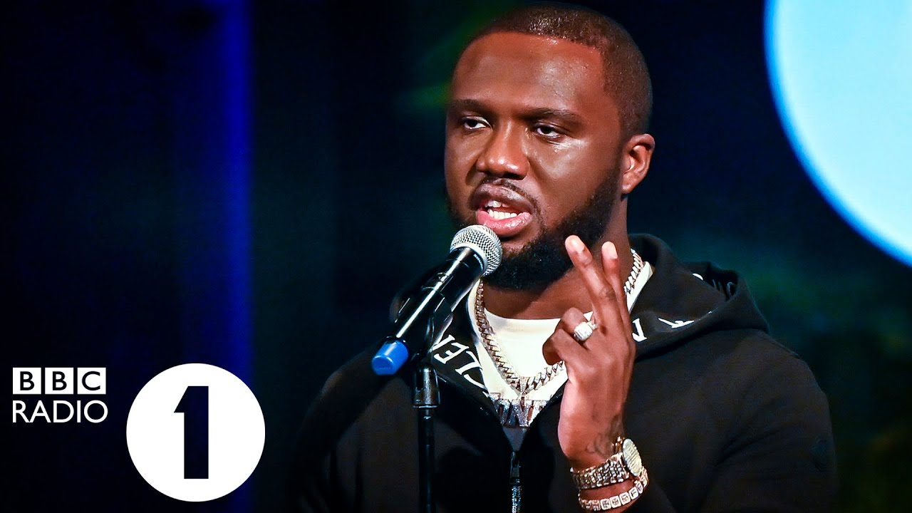 Headie One - The Light in session for Radio 1