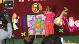 Sai Keertana Mudigonda Rendering Light Music @ All India Montfort Schools Competition