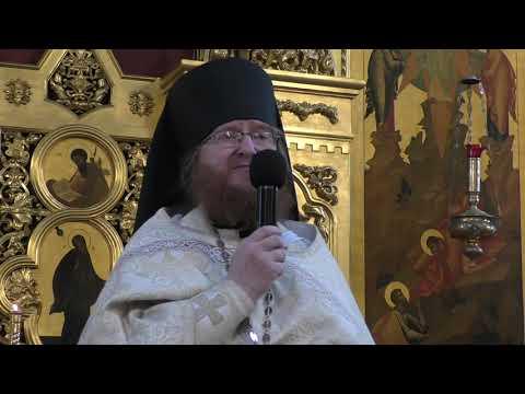 2019.08.19 Проповедь иеромонаха Филарета в праздник Преображения Господня