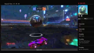 Rocket league grinding\Playing with subs