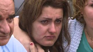 Refugees arriving on Lesbos - video by Samaritan