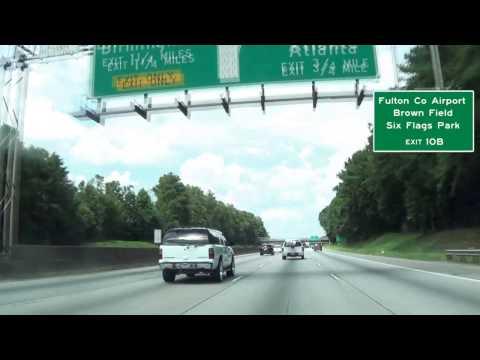 I 285 North Atlanta, GA MM 1 to 15