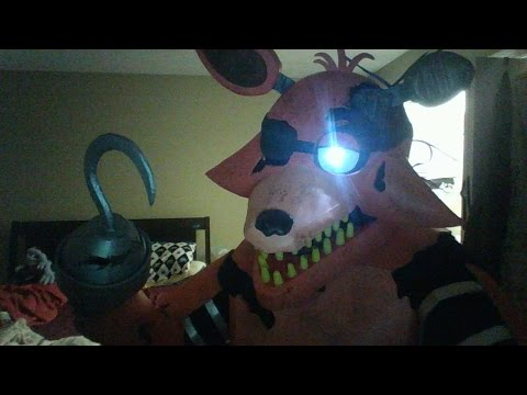 Withered Foxy Halloween / Comic Con Costume