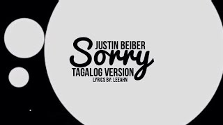 Justin Bieber - Sorry Tagalog Version | JayLeeSa Productions | Song Parody