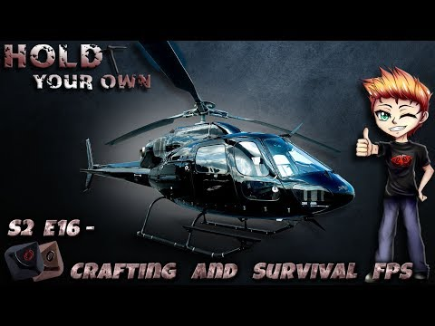 Hold your own - Crafting and Survival FPS