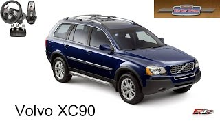 Volvo XC90 тест-драйв, обзор, Офф-роуд, семейный внедорожник City Car Driving Logitech G27