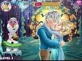 ♥ Disney Frozen Games Movie Elsa and Jack Kissing Frozen Game ♥