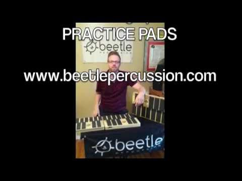 Beetle Percussion / Matthew Coley Mar./Xylo. Practice Pads (vid.3) - Count Down to the Release (7/1)