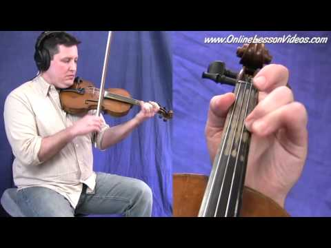 St. Anne's Reel - Irish Vs. Bluegrass Style - Fiddle Lesson