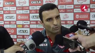 Coletiva do Treinador Júnior Rocha / CRB X Brasil de Pelotas