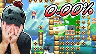 0.00% COMPLETION RATE LEVEL AGAIN! WHY?! // SUPER EXPERT NO SKIP Super Mario Maker