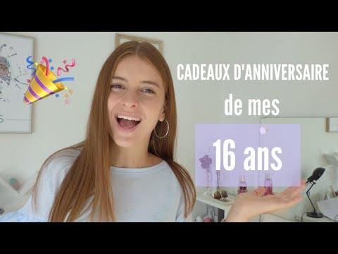 CADEAUX D'ANNIVERSAIRE DE MES 16 ANS   YouTube