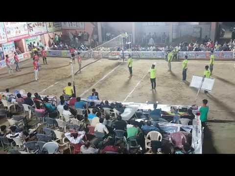 Anjuman Live Bissau Idgha Vs Islamiya Ramghar shooting volleyball