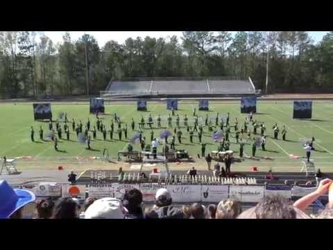 Murray County High School Marching Band - Festival Oct 18. 2014