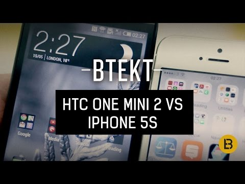 HTC One mini 2 vs iPhone 5s