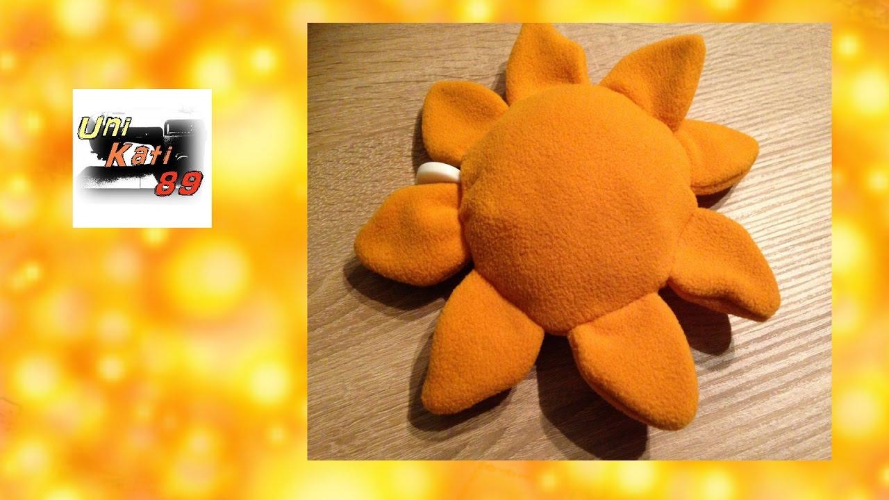 Baby Spieluhr nähen Sonne Schnittmuster Anleitung #UniKati89 - YouTube