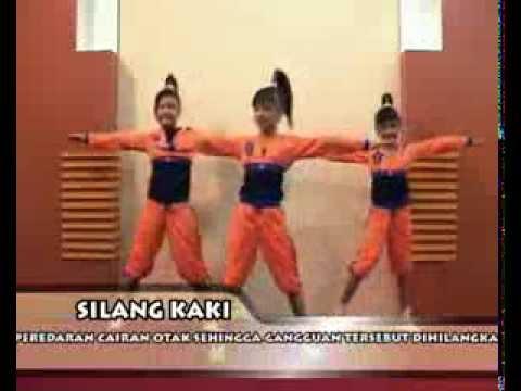 Senam Otak (Brain Gym) Dinas Pendidikan Provinsi Jawa Timur Part 2 (Instruksional)