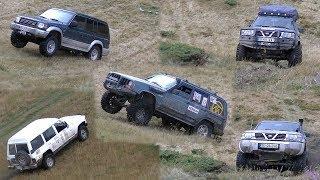 Nissan Patrol vs Mitsubishi Pajero vs Jeep Cherokee
