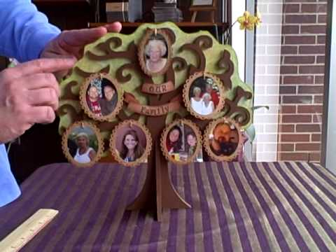 beyond the page a mdf family tree by kaisercraft youtube