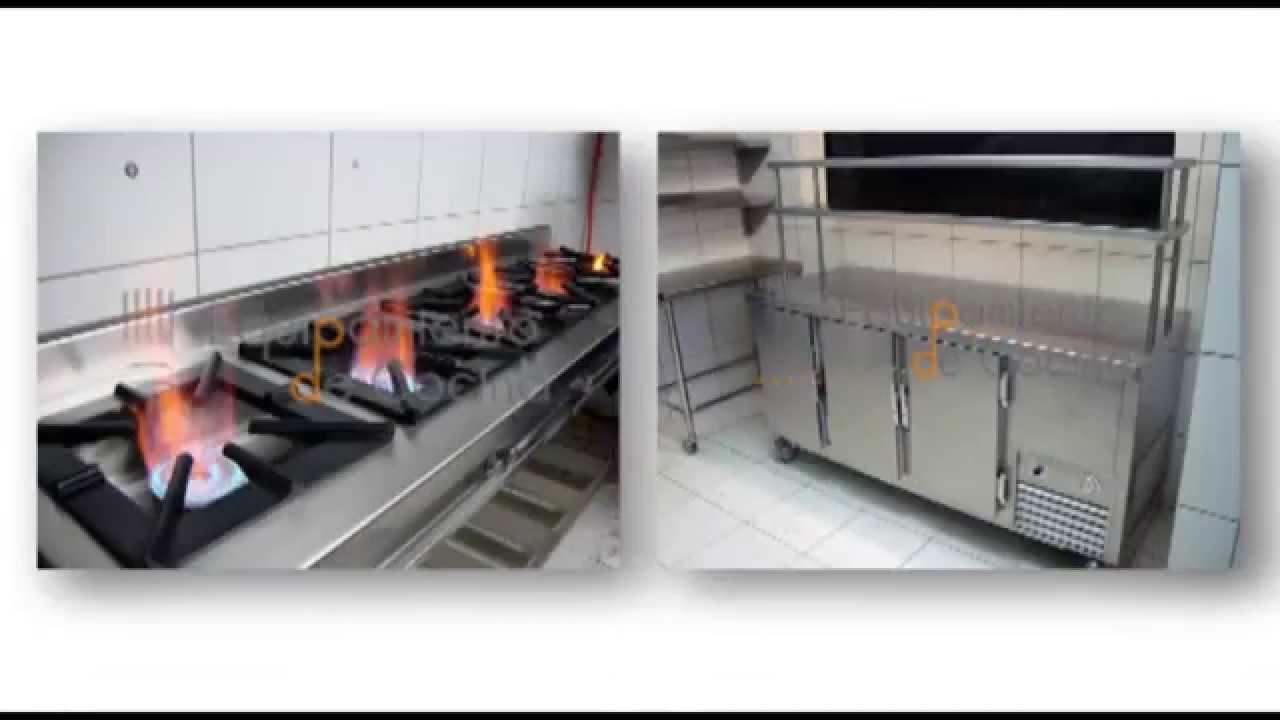 equipamiento de cocina para restaurantes youtube