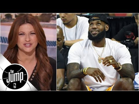 Rachel Nichols: LeBron having fun summer, but will season be able to match it? | The Jump | ESPN