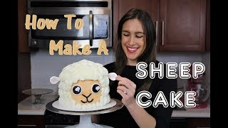 How To Make A Sheep Cake  CHELSWEETS