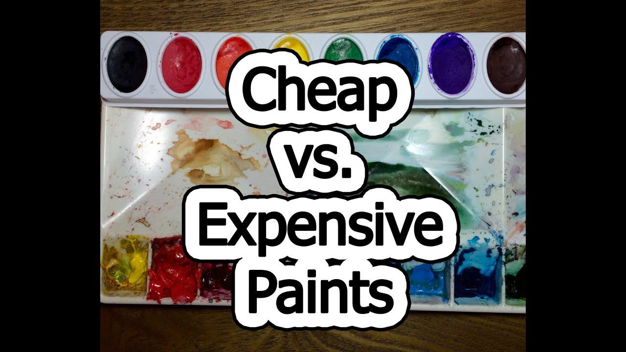 cheap vs expensive paint youtube