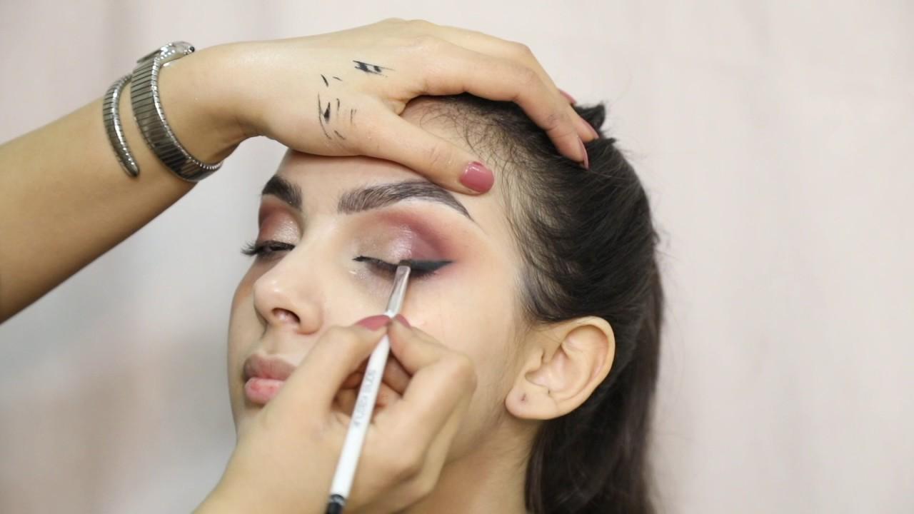 خطوات عمل مكياج سهره | لطيفه السيار , haw to do evening makeup - LATIFAH ALSAYYAR HD