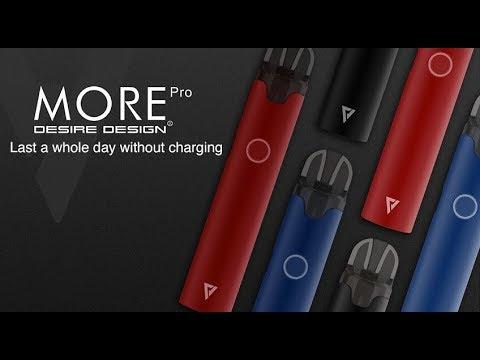 Preorder Desire More Pro Pod System Kit 1000mah 2ml Vapormo Com Youtube