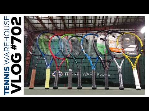 Best Tennis Racquets Of 2020 (including Options For All Levels)! -- VLOG #702 🤩